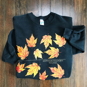 Vintage Autumn Maine Sweater